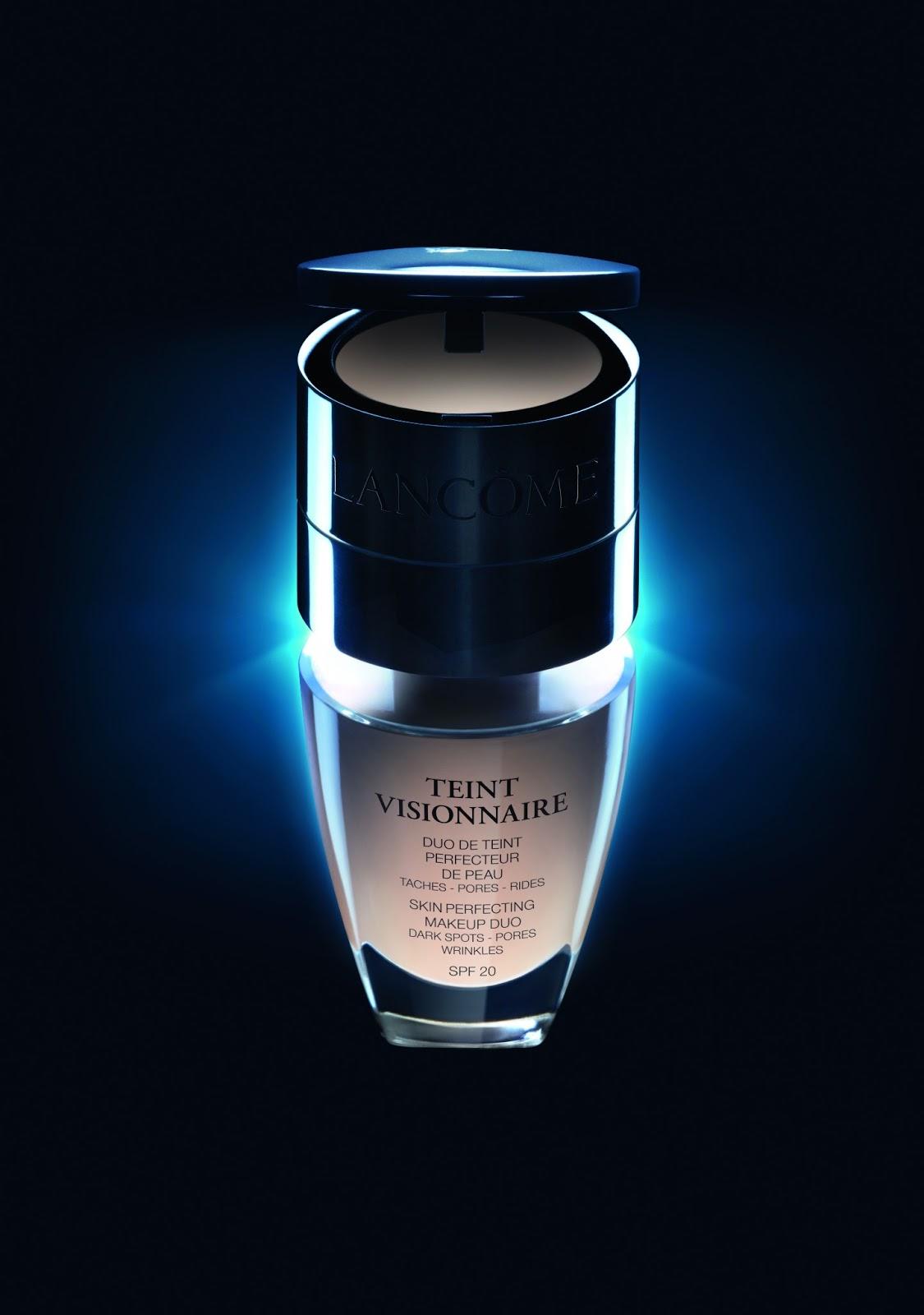 El nuevo maquillaje de Lancome se llama Teint Visionnaire y es revolucionario