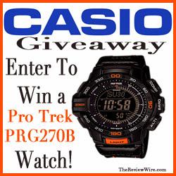 Enter to win a Pro Trek PRG270B Watch
