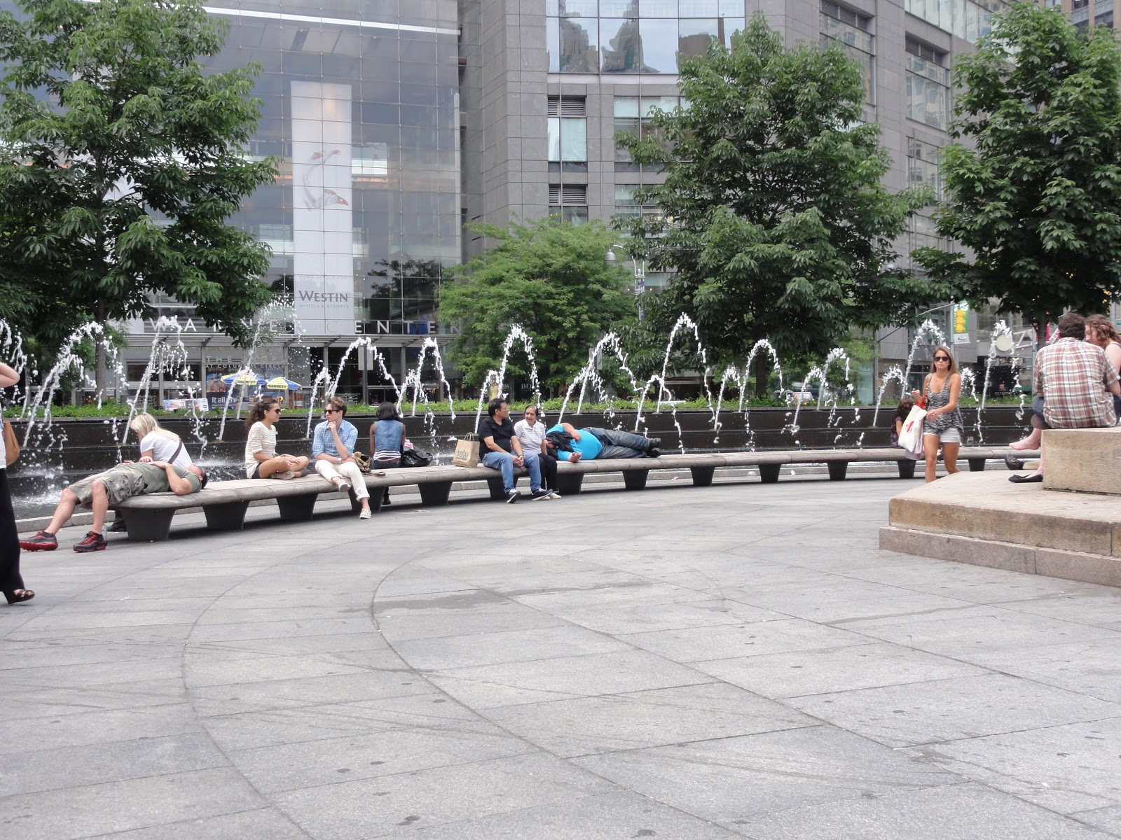 Investigating urban space in new york sitting requirements for urban spaces - Small urban spaces image ...