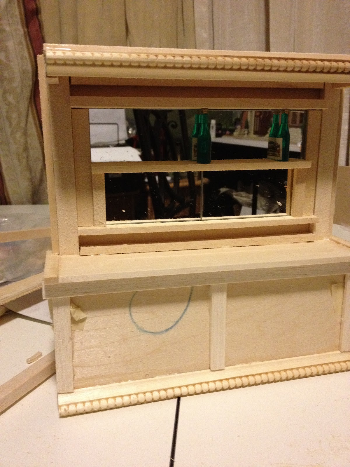 how to build a dollhouse from scratch