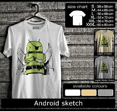 kaos distro android sketch