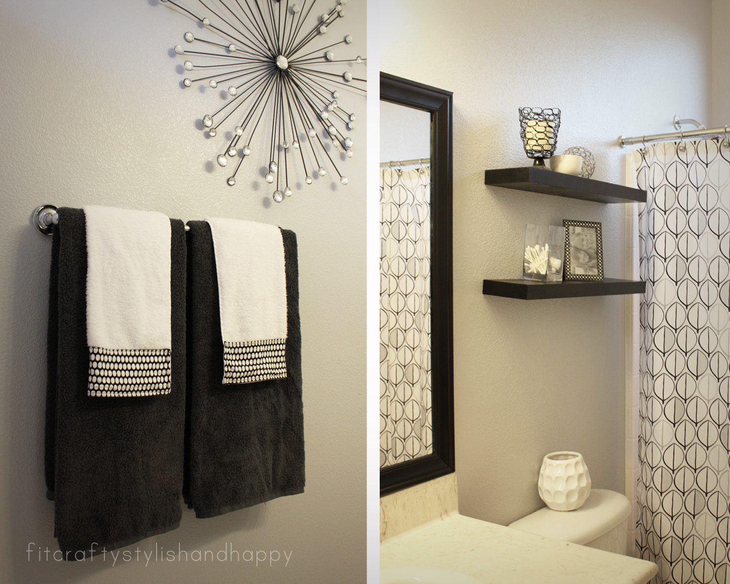 Black White Bathroom Decorating Ideas