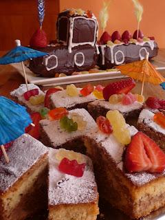 pastel de cumpleaños de niños - fiesta