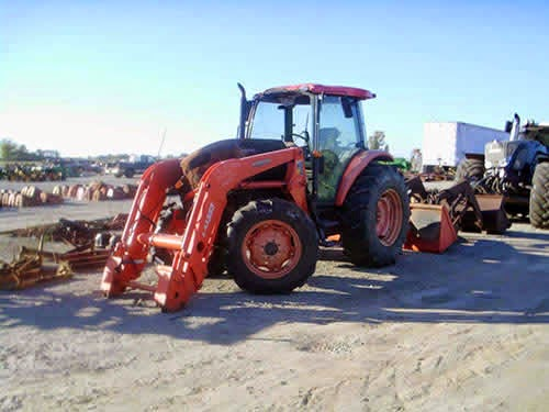 Kubota B6200 Front Axle : Kubota b loader parts tractor engine and