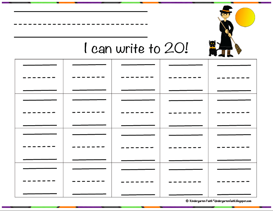Write Numbers 1-20 it Includes Writing Pages For 1-10 1-20 1-50 And 1 ...