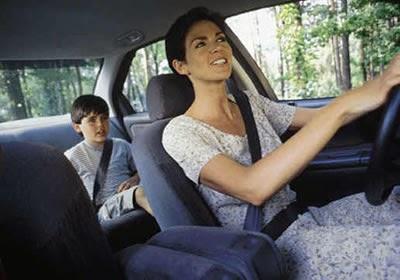 Error típico al manejar