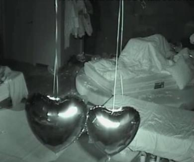 Flávia e Bruno a pinar quase rebentaram a cama (video)
