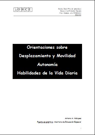 la imagen muestra la portada del documento para la monitora