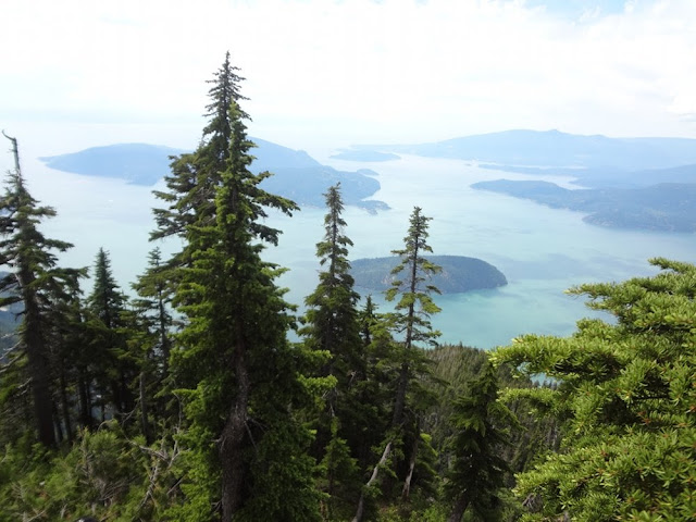 View of islands from St. Mark's Summit