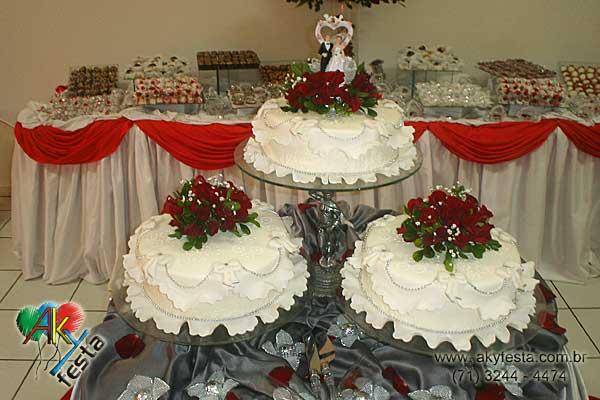 Cerimoniais e Eventos Bolo para casamento