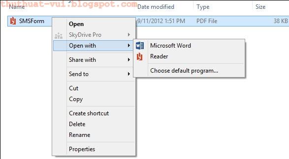 Cách chỉnh sửa file PDF bằng Word 2013 đơn giản