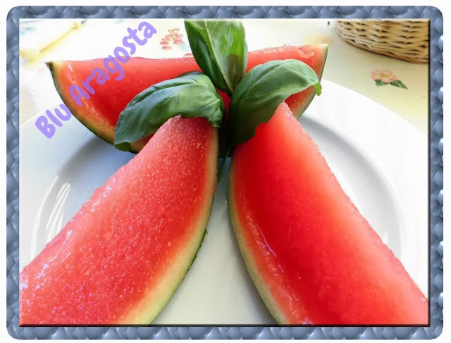 watermelon and vodka  jelly: gelatina di anguria e vodka