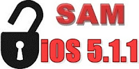 Unlock iOS 5.1.1 with SAM tool