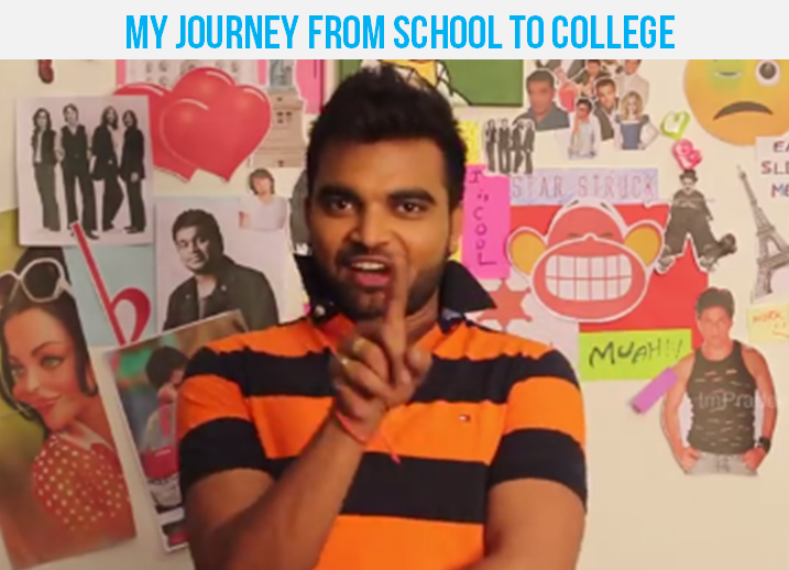 ANCHOR PRADEEP -MY JOURNEY FROM SCHOOL TO COLLEGE