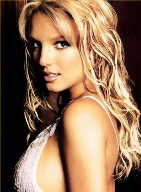 Britney Spears Long Blonde Hair 2011