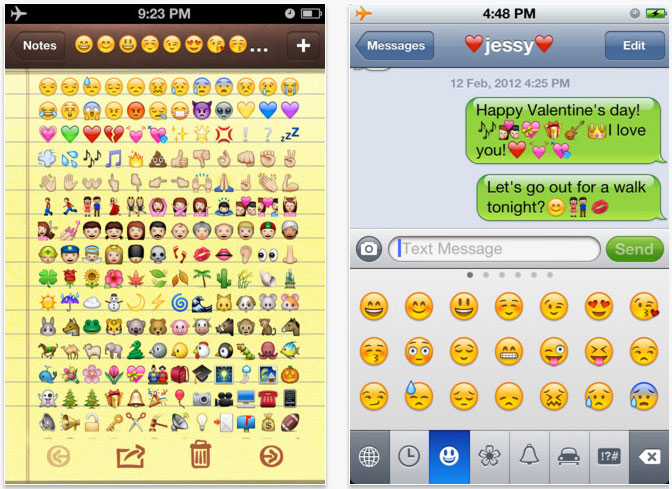 Facebook android chat messages emoji emoticons jpg facebook apps - Image Gallery Iphone 5 Emoticons