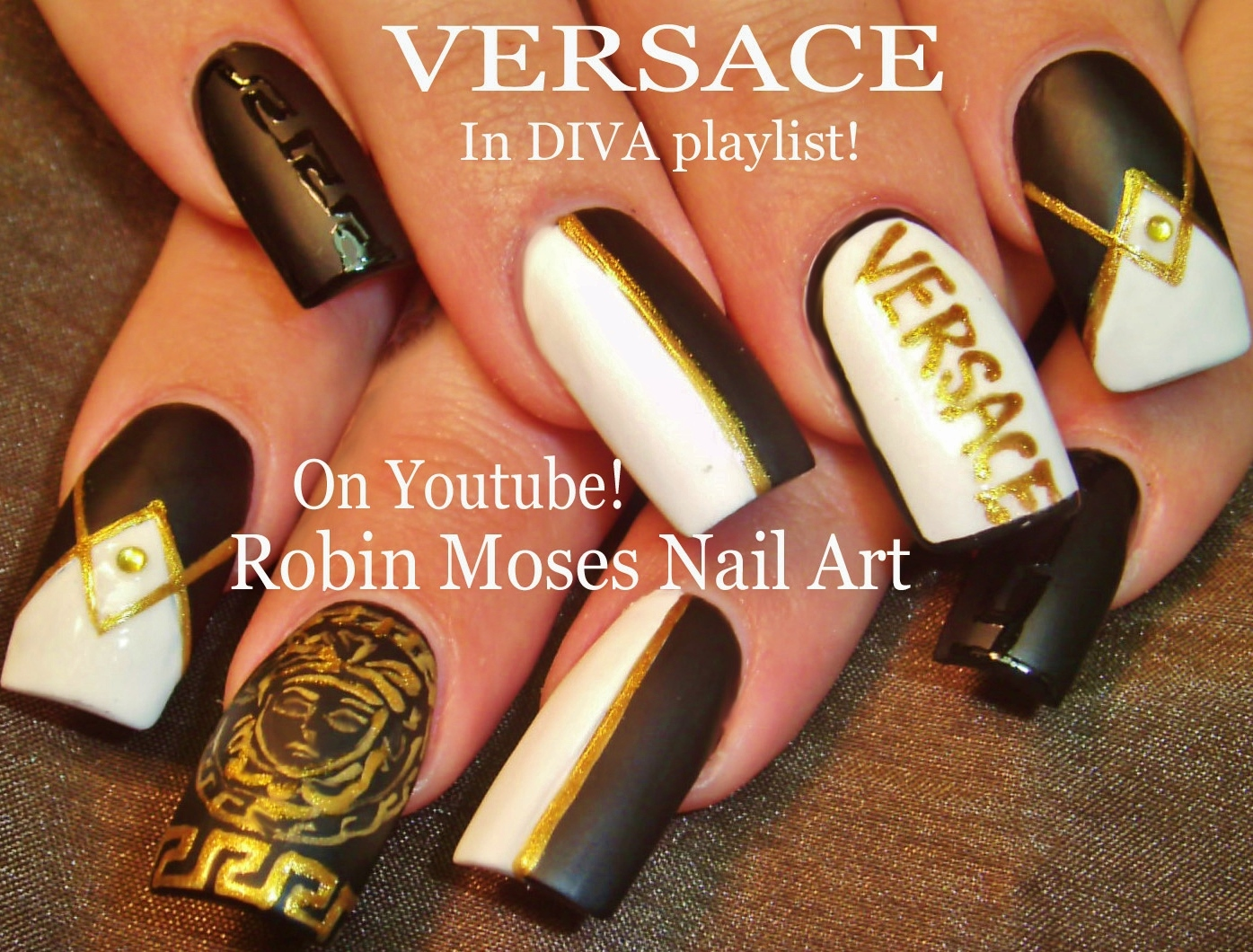in Animal print and glitter! Sadiddy Diva Nail Art Design Tutorial