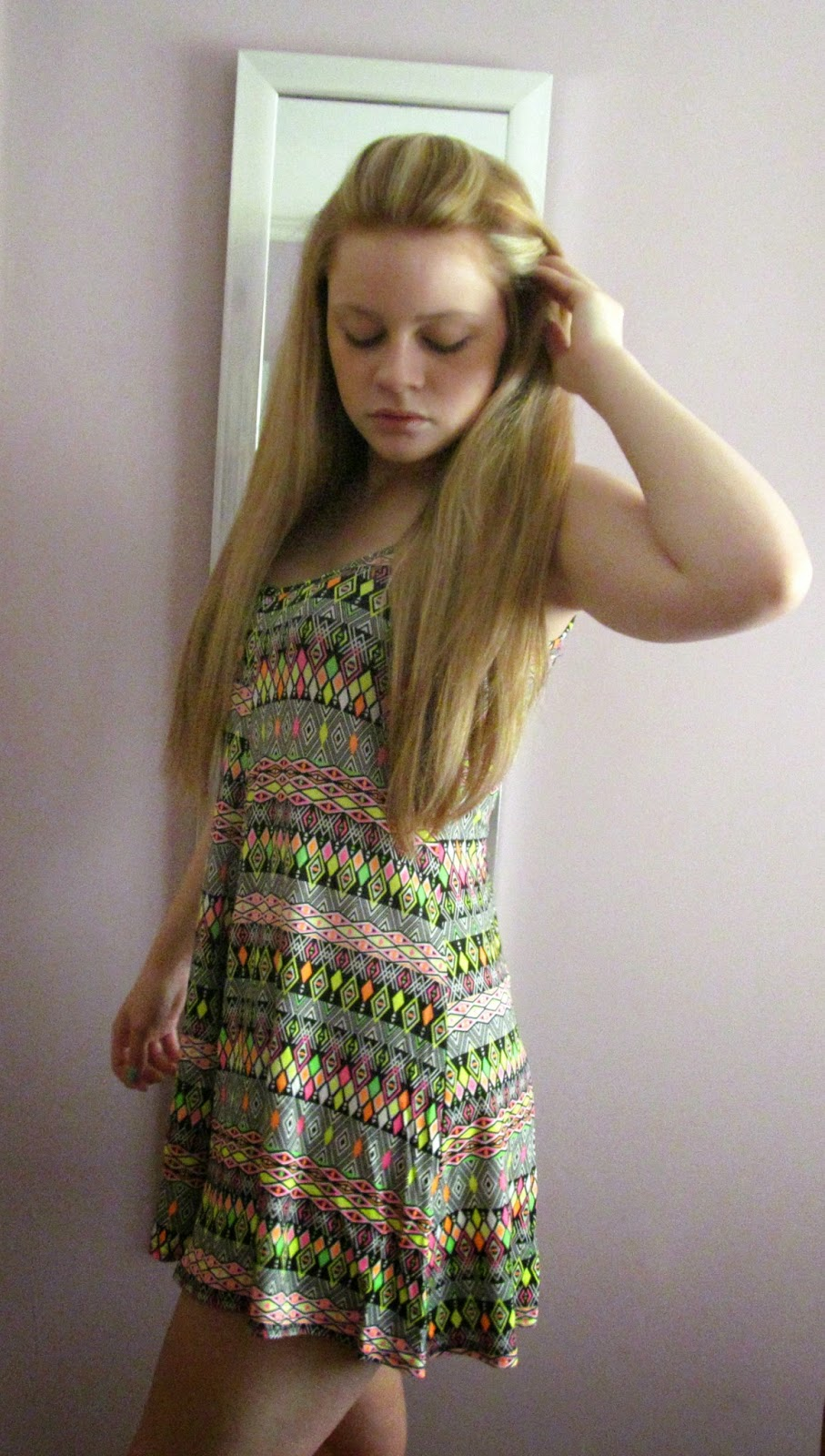boohoo patterned playsuit