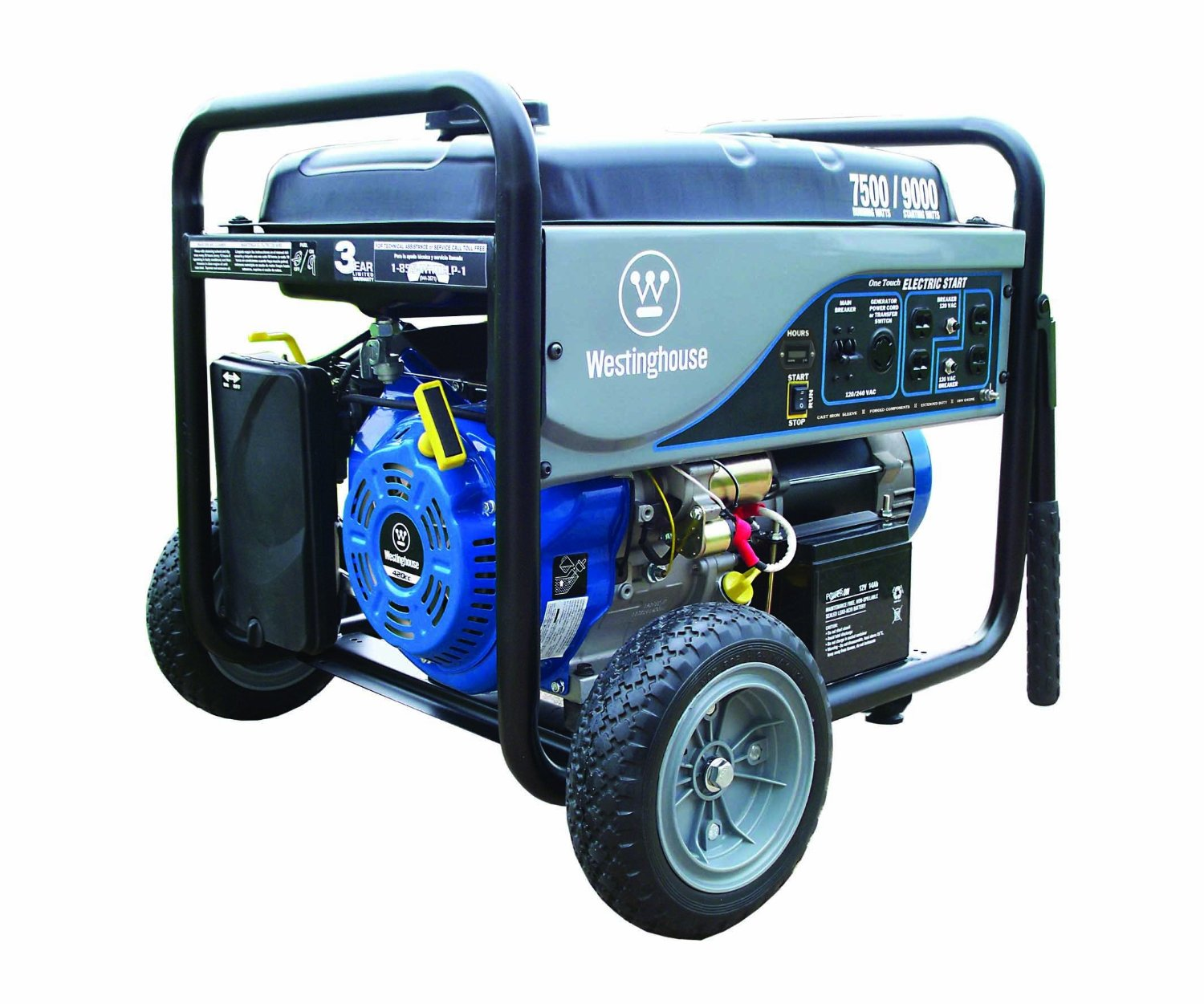 Westinghouse WH7500E portable generator – Review - Welder Referer