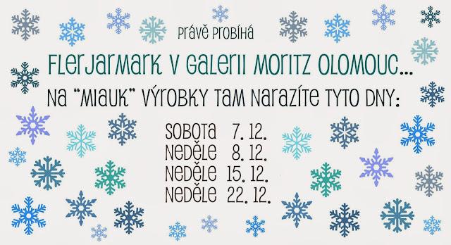 vánoční jarmark galerie Moritz