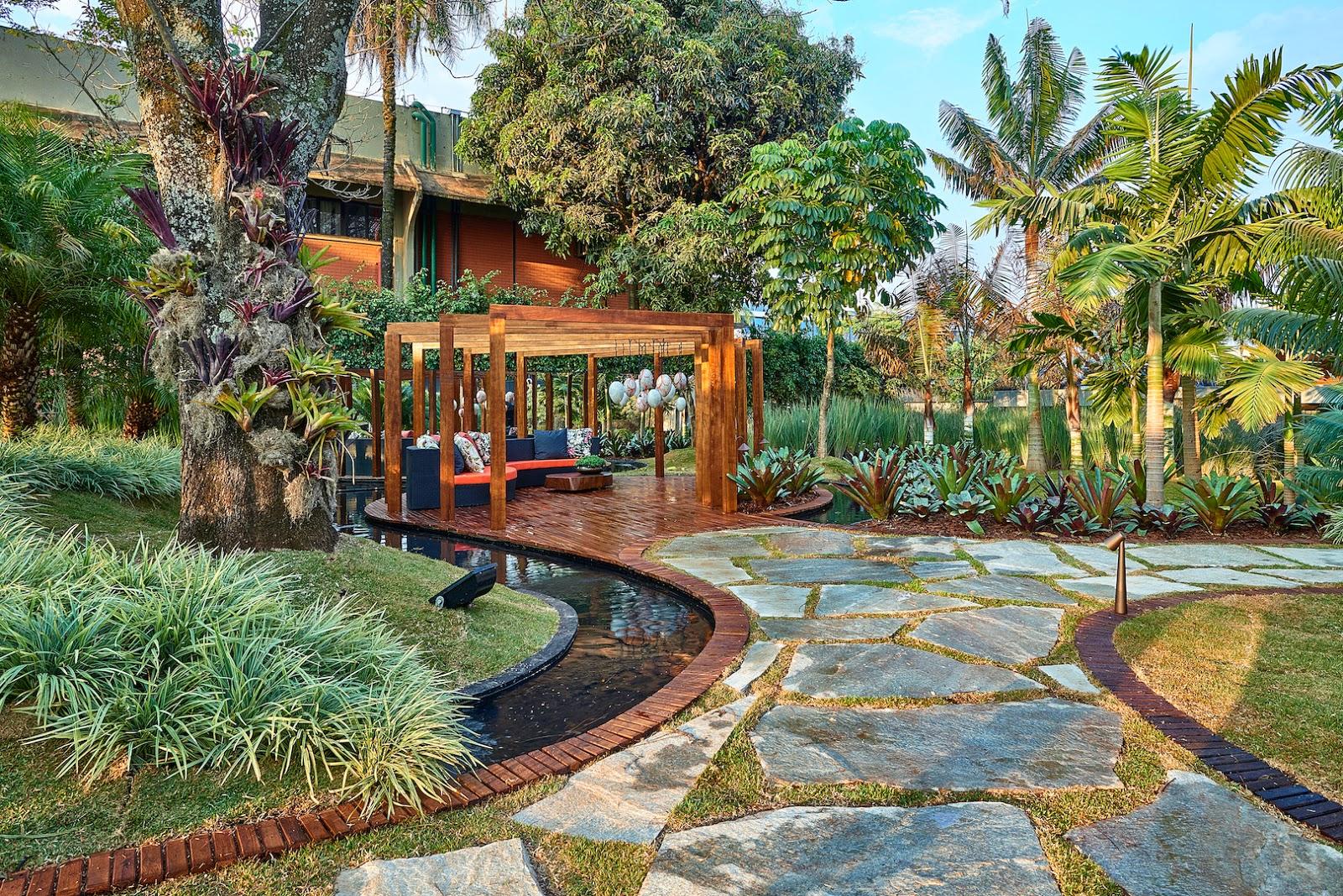 plantas brasileiras jardim:Moda e Gestão: