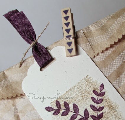 Little details add up to a professional looking DIY gift tag