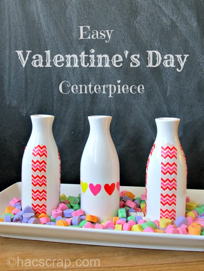 How-To Make an Easy Valentine's Day Centerpiece