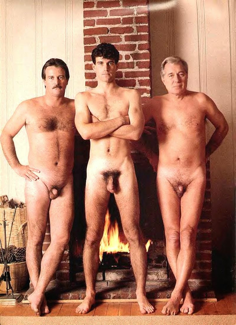 real daddies nude in their kitchens