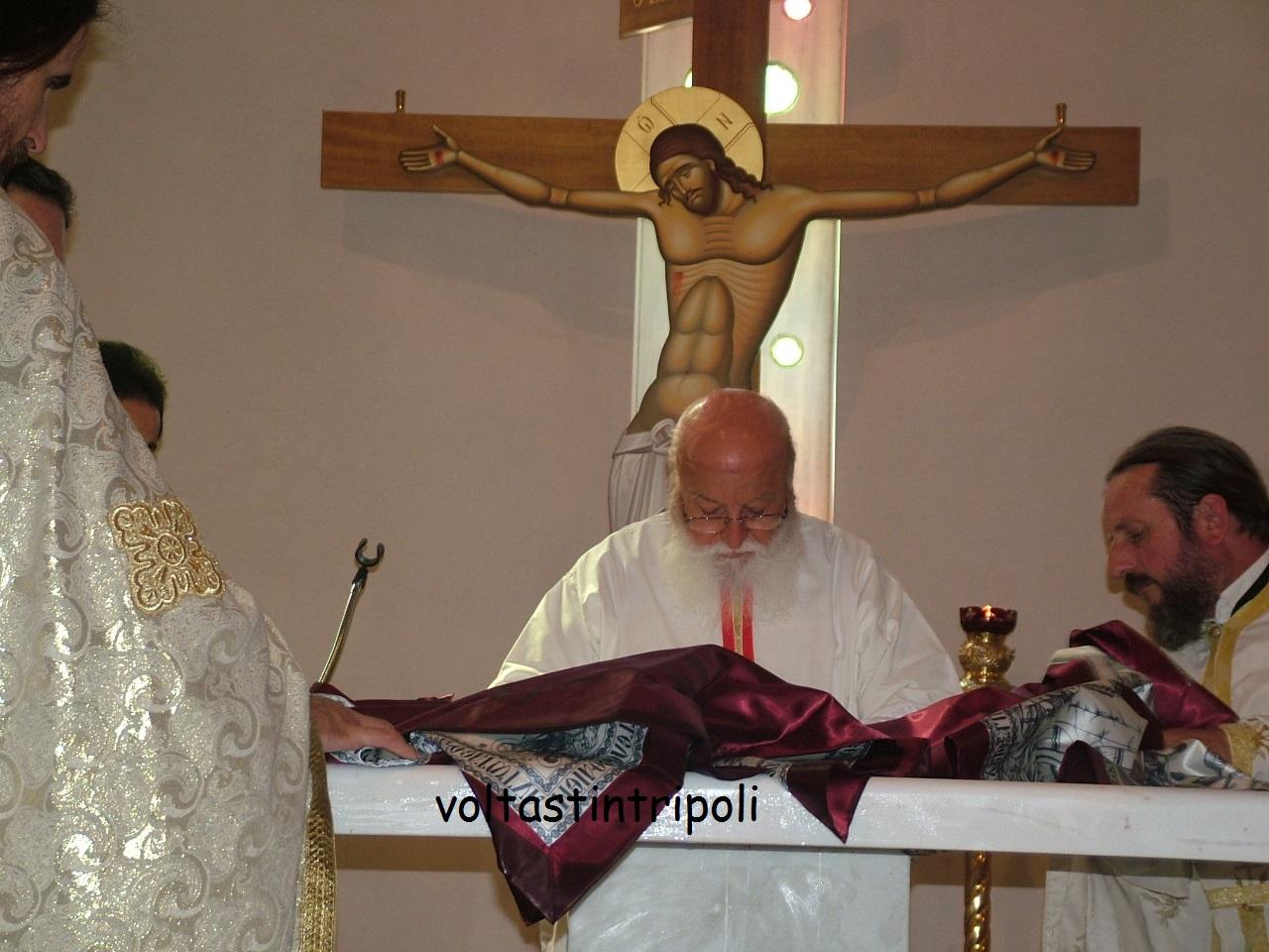 Εγκανιάσθηκε ο Ι.Ν. Αγίας Αικατερίνης Τριπόλεως