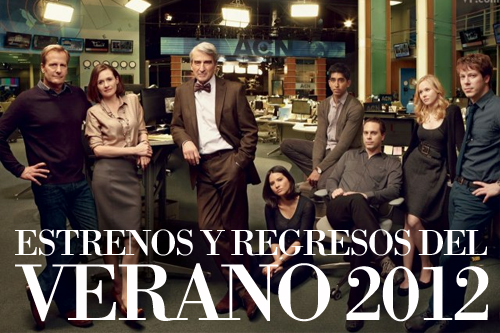 Series Verano 2012 The Newsroom