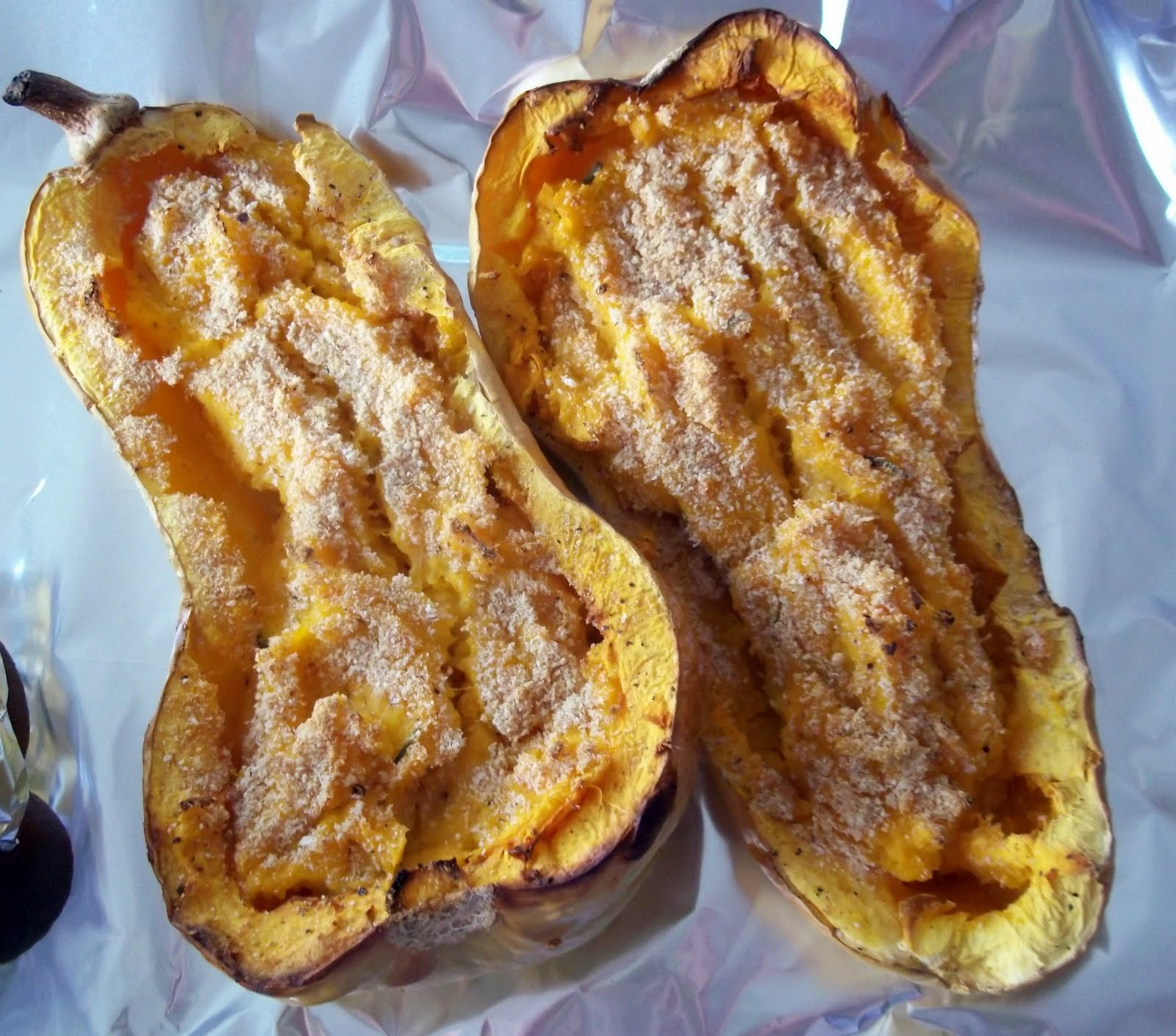The Sporadic Cook: Twice Baked Butternut Squash