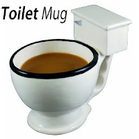 toilet mug novelty