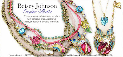 Regencies.com Blog: NEW! Betsey Johnson Fairyland Jewelry ...