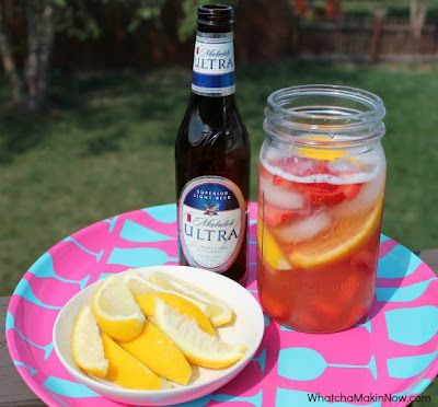Strawberry Lemonade Beer