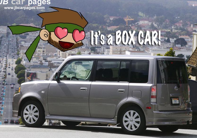 Boxcar Box Like Cars