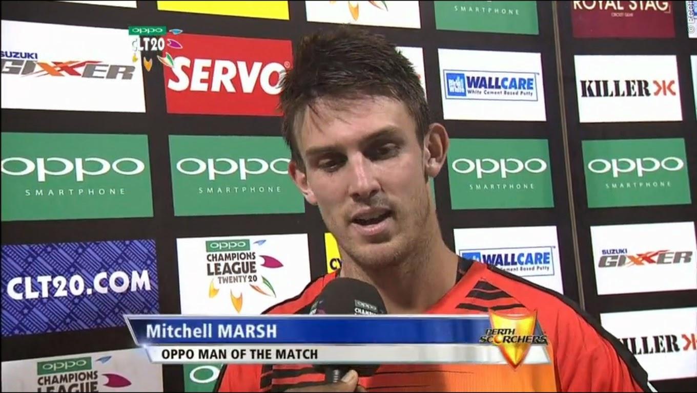 Mitchell-Marsh-PERTH-SCORCHERS-V-LAHORE-LIONS-CLT20-2014