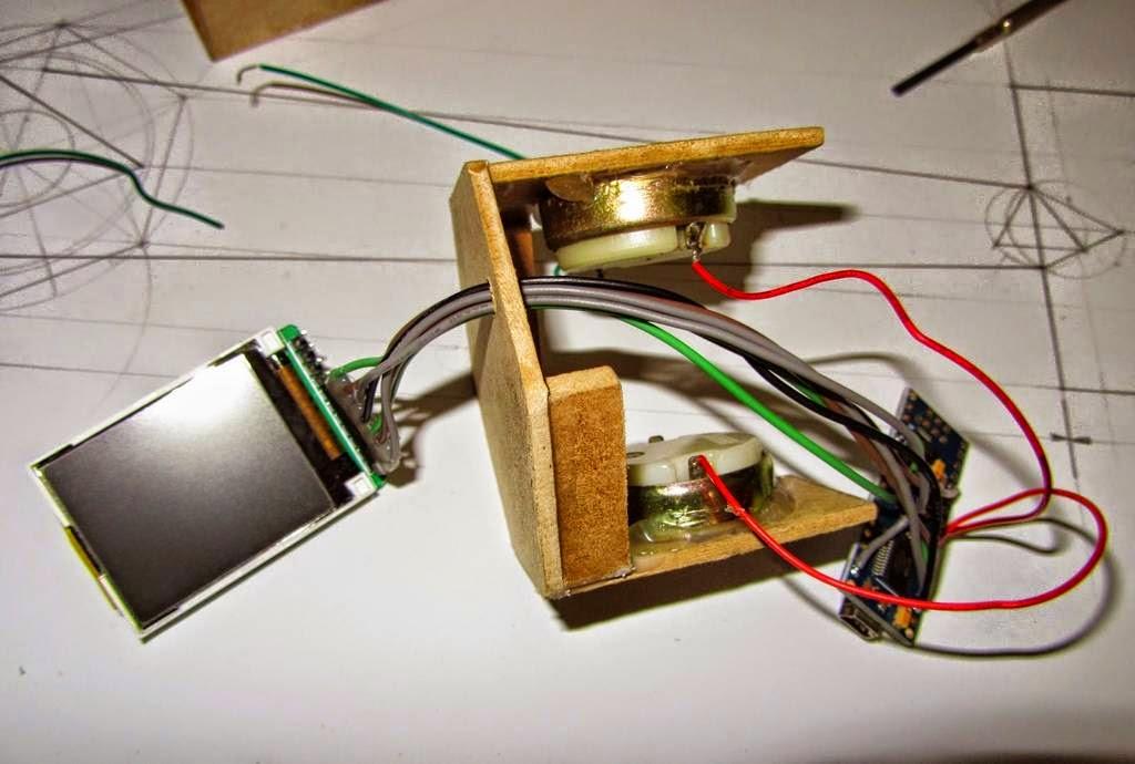 Caleidoscopio con Arduino y TFT