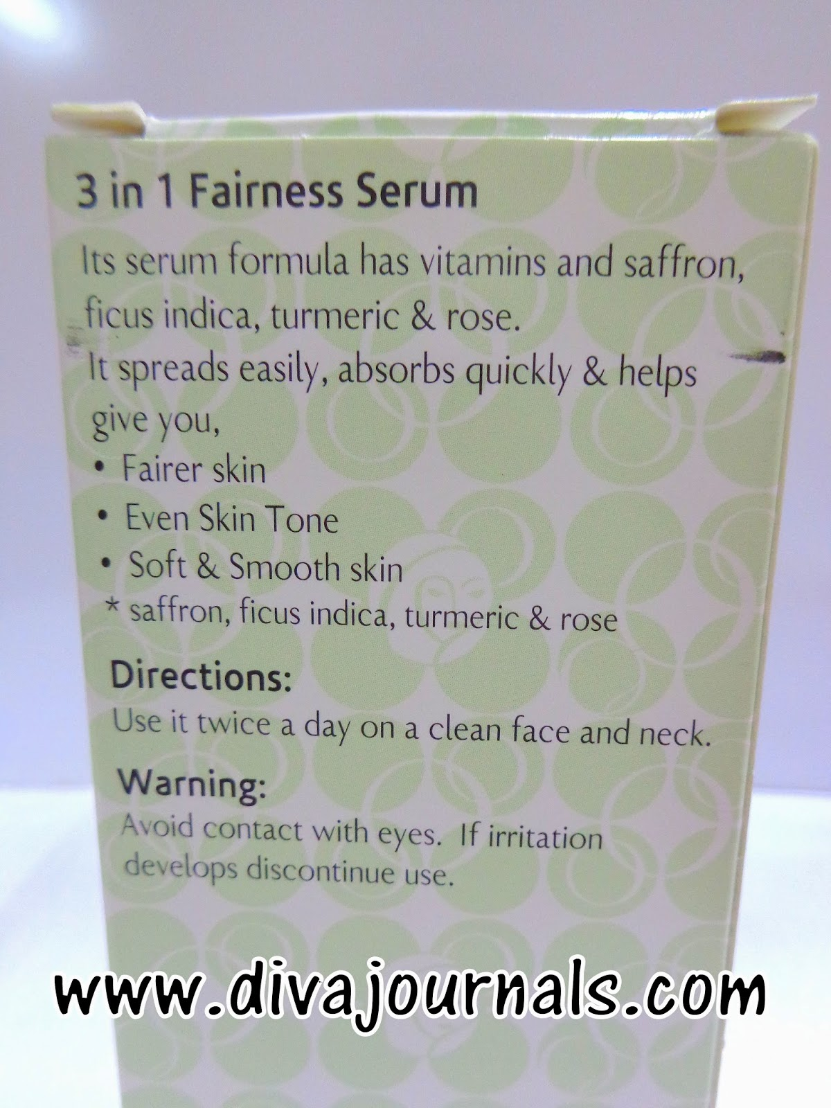 Olay Natural White 3-in-1 Fairness Serum Review