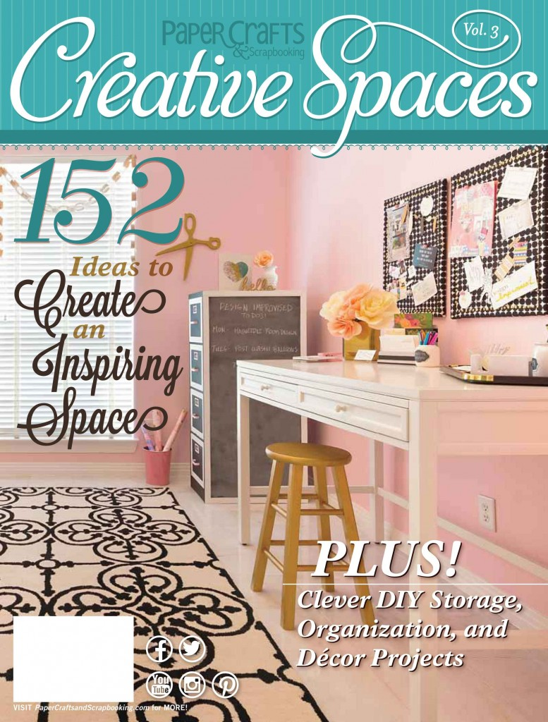 Creative Spaces Vol. 3 by Paper Crafts & Scrapbooking Magazine