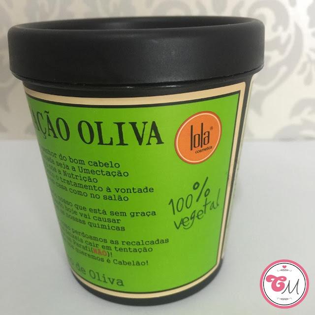 Resenha Umectação Oliva da Lola Cosmetics