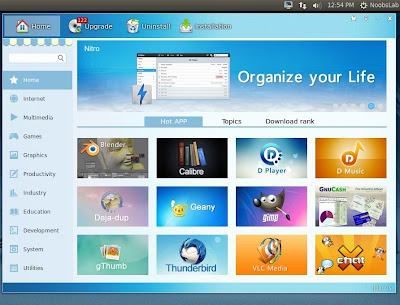 deepin software center
