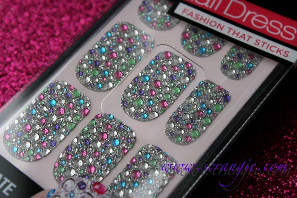 Scrangie: New Kiss Nail Dress Nail Art Appliques