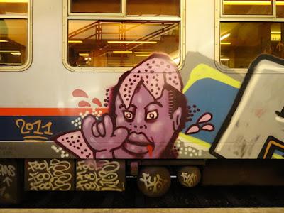PMS TSB graffiti