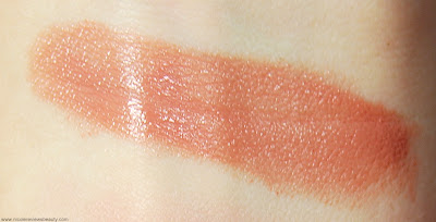 Too Faced La Creme Color Drenched Lip Cream in Naughty Nude Swatch