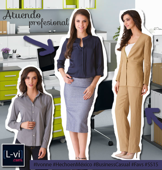 Ivonne: PV2015 /SS15 Office ready L-vi.com