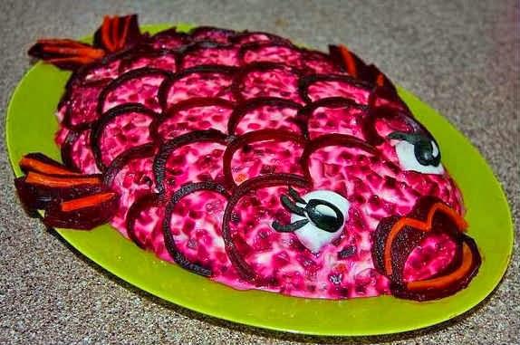Пошаговый рецепт с фото селедка под шубой