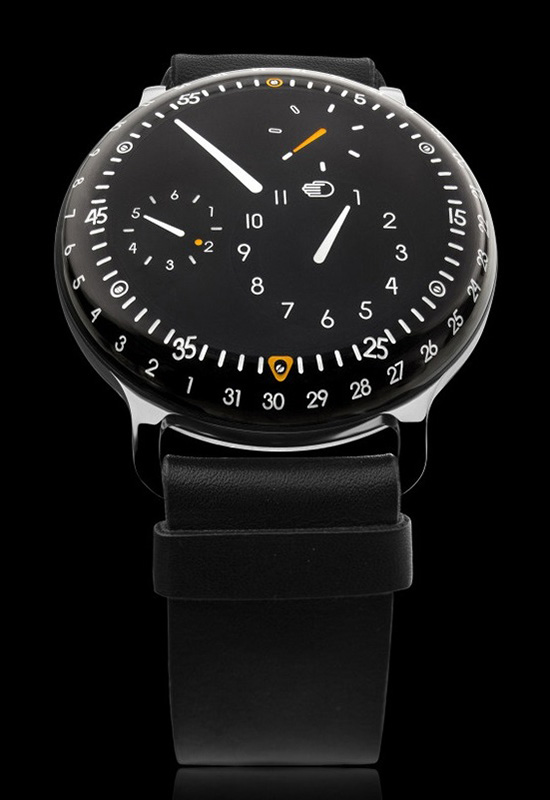 0cc412d101d A reinvenção de conceitos faz parte da natureza do homem e esporadicamente  surgem relógios que reinventam a maneira de observar as horas