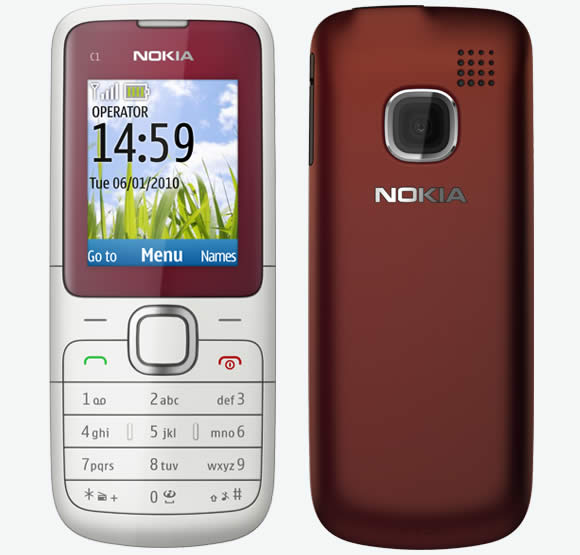 Nokia C1-01 model Price and Specification | NoteBook Price ...