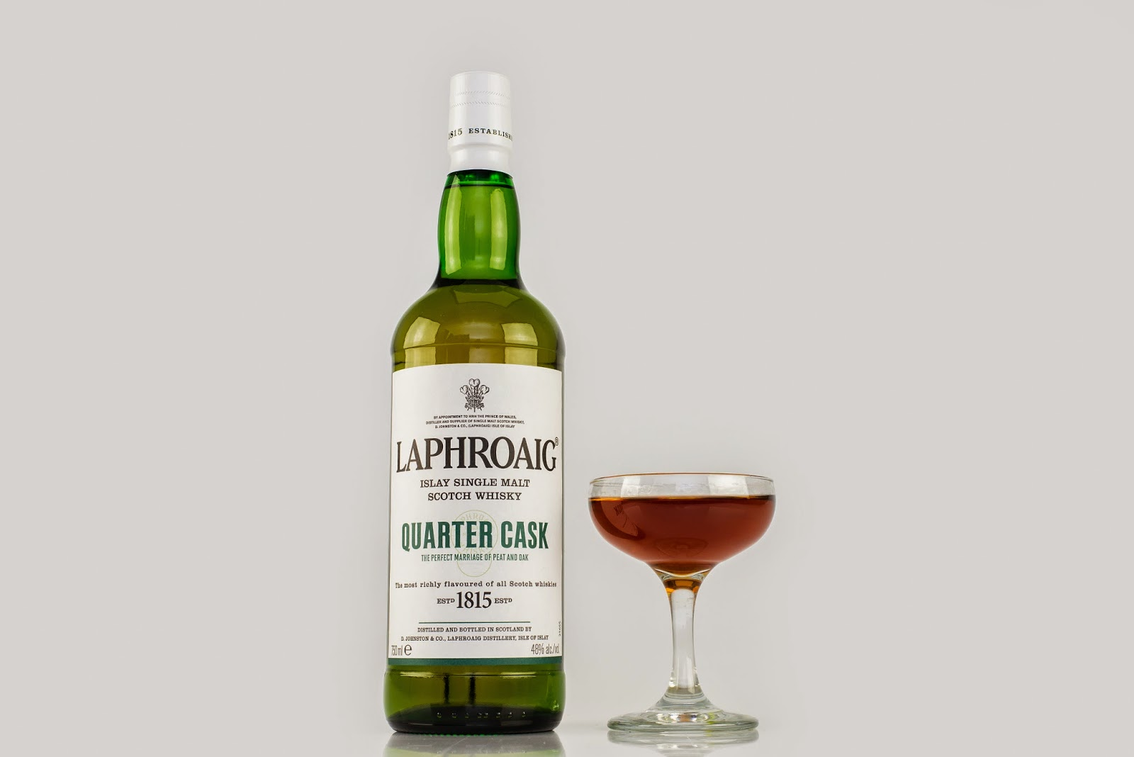Laphroaig Quarter Cask cocktail