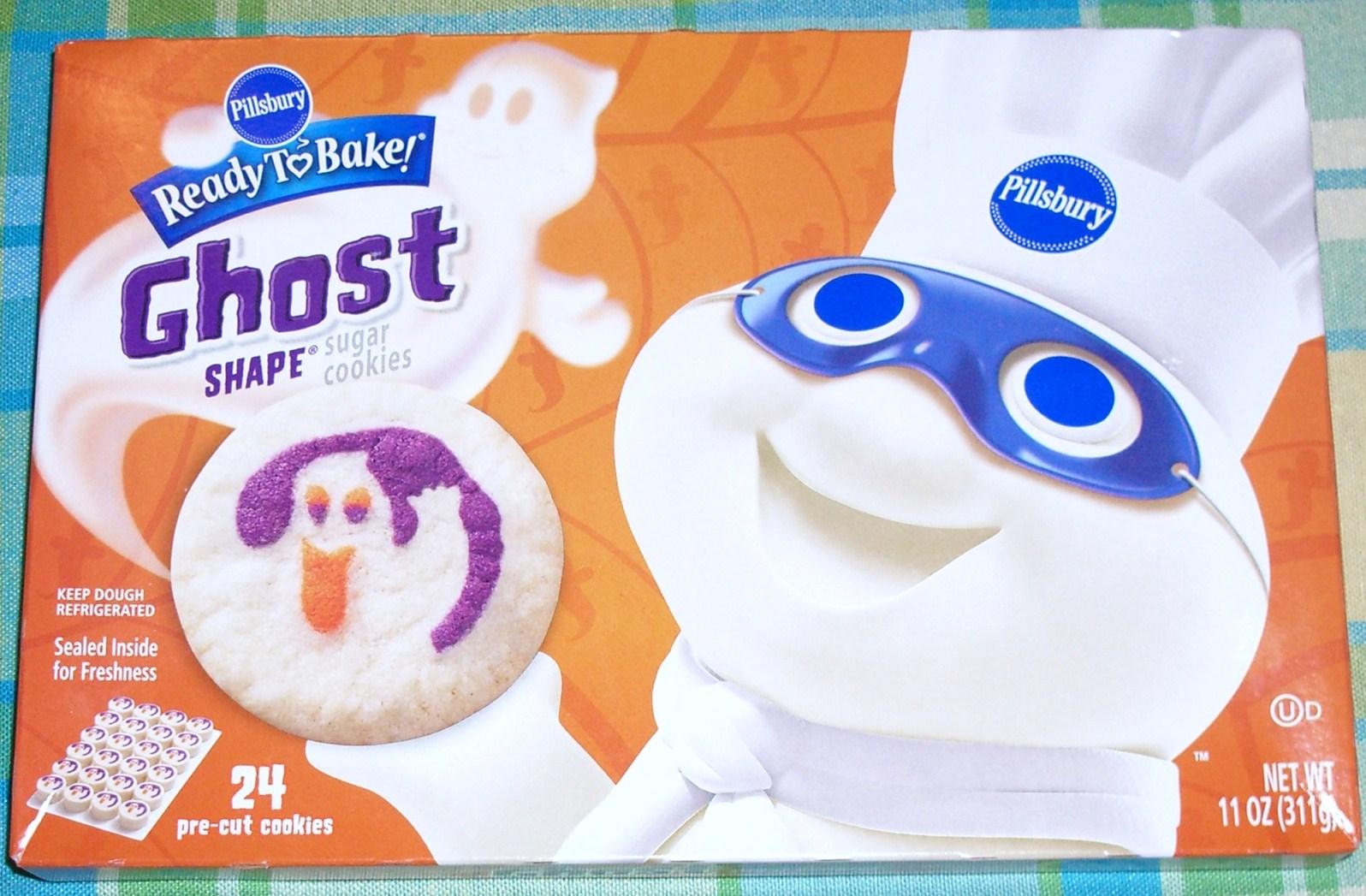 pillsbury ghost cookies google search pillsbury holiday cookies pinterest pillsbury frosting and cake - Pillsbury Dough Boy Halloween Cookies